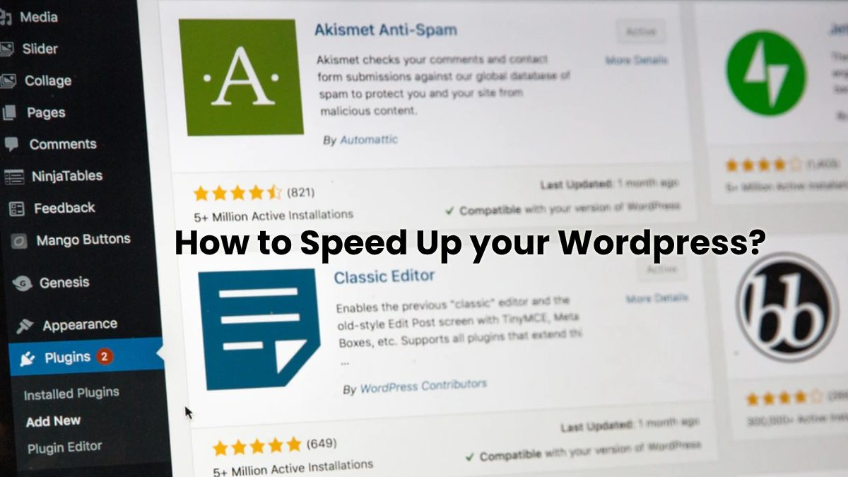 How to Speed Up your WordPress? [2020]