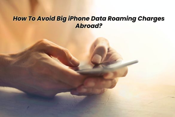 Data Roaming Charges