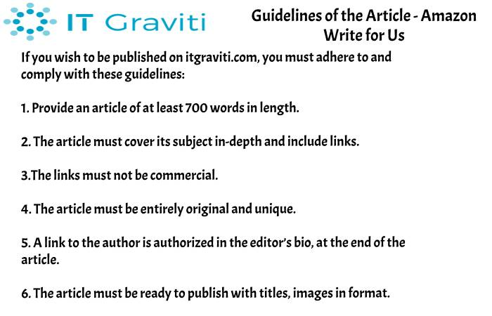 guidelines Amazon write for us(2)(29)