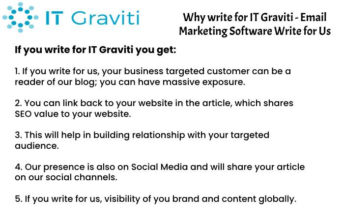Email Marketing Software Why Write for Us